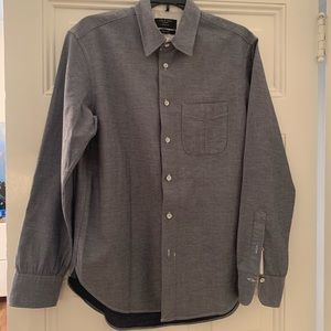 Rag&Bone Classic Fit Button Down in Blue Combo szS